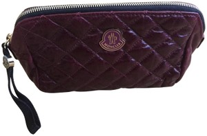 Moncler Moncler Quilted Leather Beauty Pouh Make up Bag