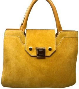 Jimmy Choo Satchel in Yellow (with SHW)