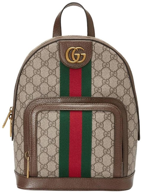Item - Crossbody New Ophidia Tote New Brown Gg Supreme Canvas Backpack