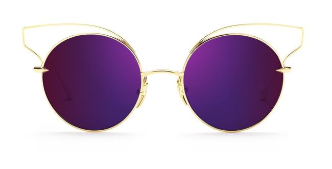 Dita Purple Gold Believer Flash Unisex New Sunglasses Dita Purple Gold Believer Flash Unisex New Sunglasses Image 1