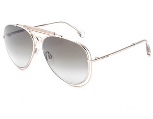 Roberto Cavalli ROBERTO CAVALLI RC1054-28G SHINY ROSE GOLD / BROWN SUNGLASSES