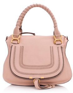 Chloé Marcie Small Marcie Marcie Small Marcie Satchel in Pink Blush Nude
