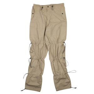 Unravel Project Cotton Utility Relaxed Pants Beige