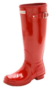 Hunter Military red Boots