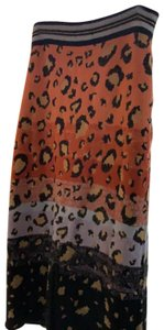 Mauve Skirt orange,purple,black,gold