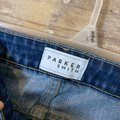 Parker Smith Blue Distressed Twisted Straight Leg Jeans Size 26 (2, XS) Parker Smith Blue Distressed Twisted Straight Leg Jeans Size 26 (2, XS) Image 4