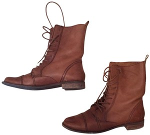 Pull&Bear Brown Boots