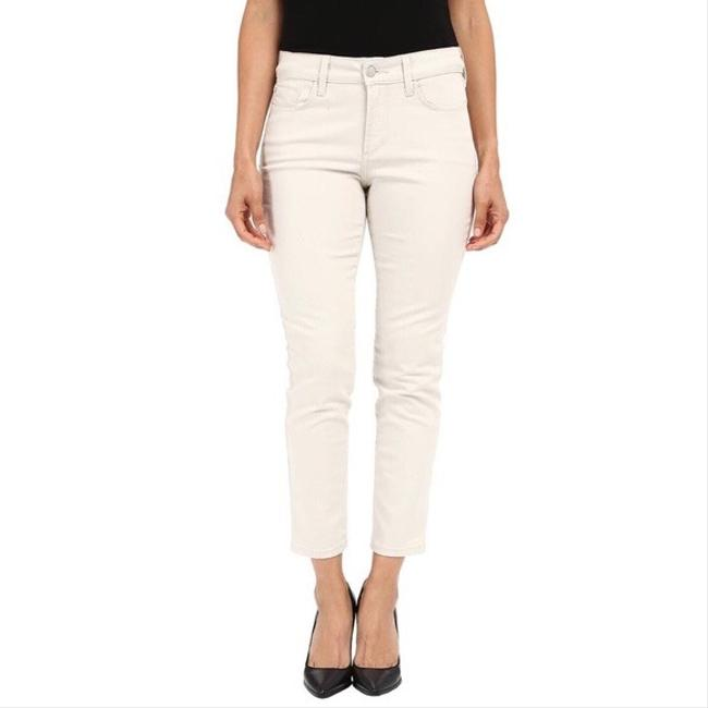 Item - Cream Tan Off White Light Wash Clarissa Ankle Slimming Skinny Jeans Size 6 (S, 28)