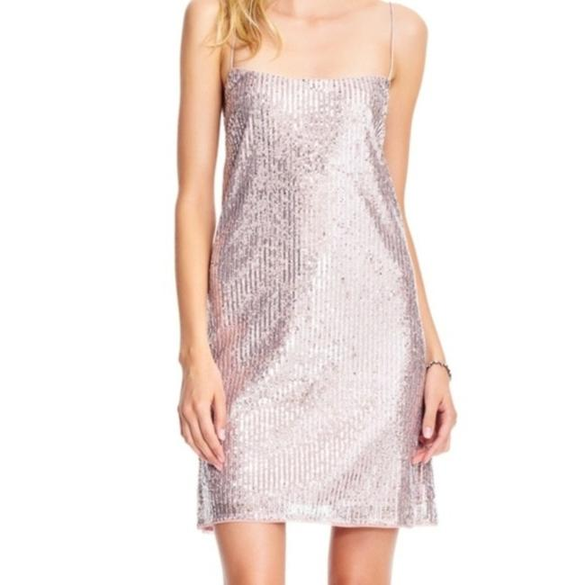 Item - Rose Gold Sequin Short Night Out Dress Size 14 (L)