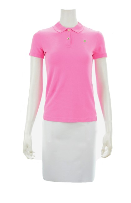 Item - Pink Sleeved Polo X-small Tee Shirt Size 2 (XS)