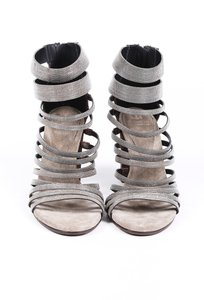 Brunello Cucinelli onyx Sandals