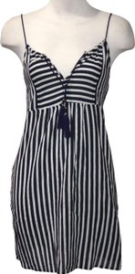 J.Crew short dress NAVY/WHITE on Tradesy