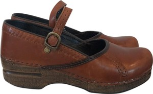 Dansko Brown/Chestnut Mules