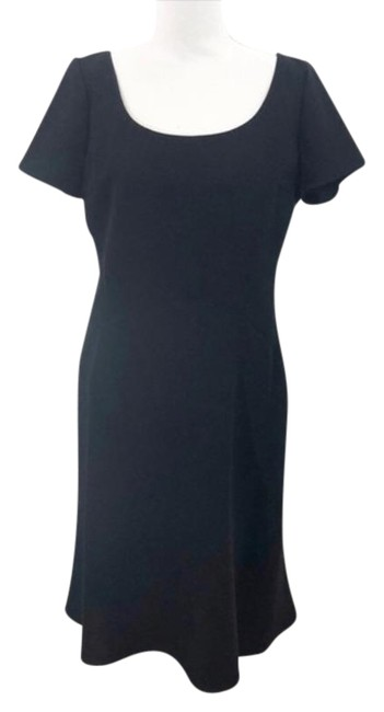 Item - Black Fit and Flare Mid-length Work/Office Dress Size 8 (M)