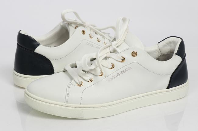 Item - White Dolce and Gabbana Low Top Sneakers Shoes