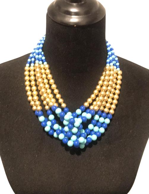 Item - Blue Beaded Necklace