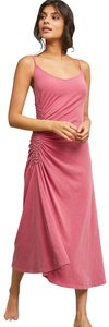 Salmon pink Maxi Dress by Sundry