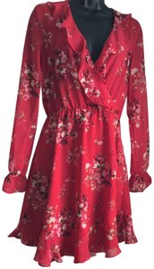 Divided by H&M short dress Red on Tradesy
