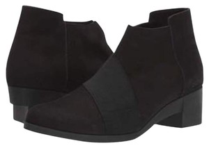 Arche Cushioned Comfort Suede Dressy Career black Boots