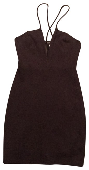 Item - Wire V Neck Sexy Going Short Night Out Dress Size 4 (S)