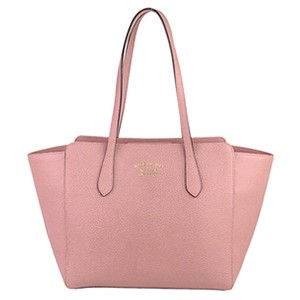 Gucci 0eguto006 Vintage Leather Tote in Pink