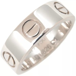 Cartier Cartier Love Ring Size 47 White Gold