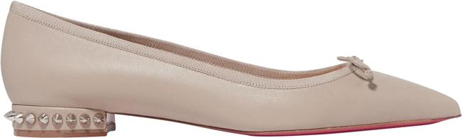 Item - Nude Hall Spiked Leather Point-toe Flats Size EU 39 (Approx. US 9) Regular (M, B)