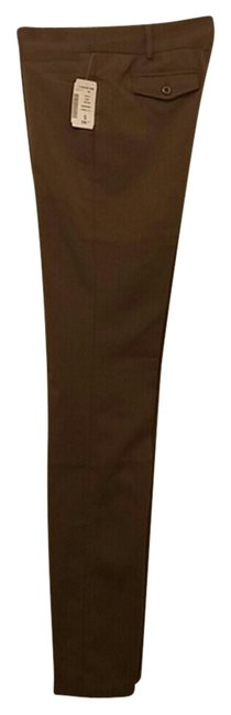 Other Fitted Straight Pants brown