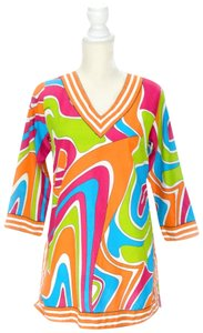Gretchen Scott Coverup Cover Up Retro Tunic