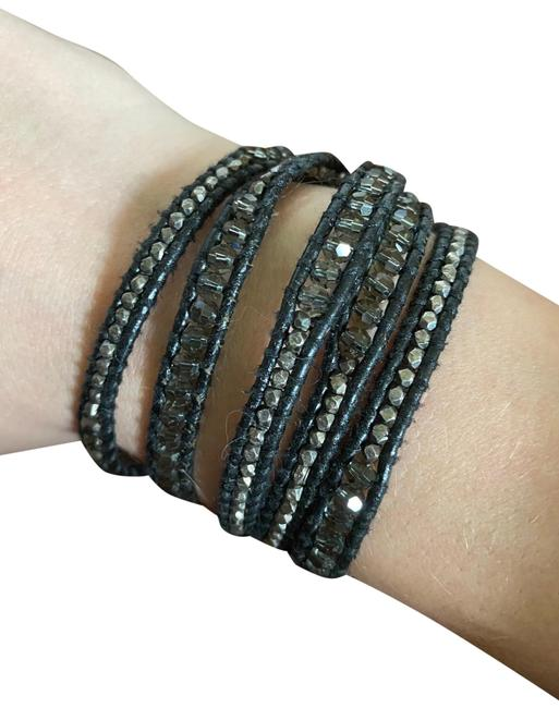 Item - Black Wrap Leather Bracelet