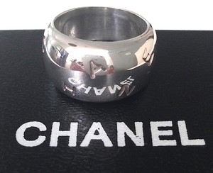 Chanel Chanel Alphabet Ring Size 7 in GOOD CONDITION
