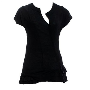 Marc by Marc Jacobs Chic Designer Trendy Top Black