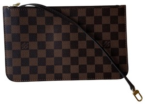 Louis Vuitton Wristlet in Multi ( Damier Ebene / Red )
