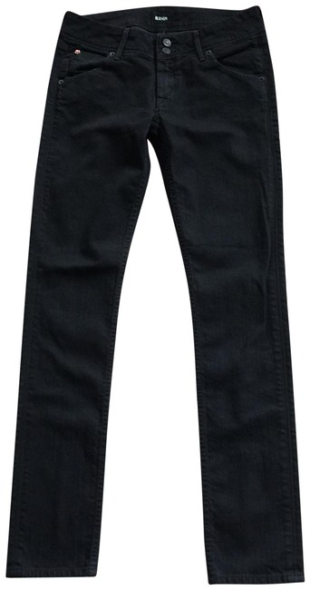 Item - Black Collin Flap Pockets Denim Actual W29.5 X I 32 Skinny Jeans Size 27 (4, S)