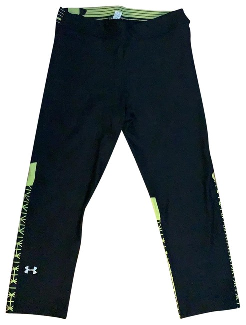 Item - Black and Bright Yellow Activewear Bottoms Size 2 (XS)