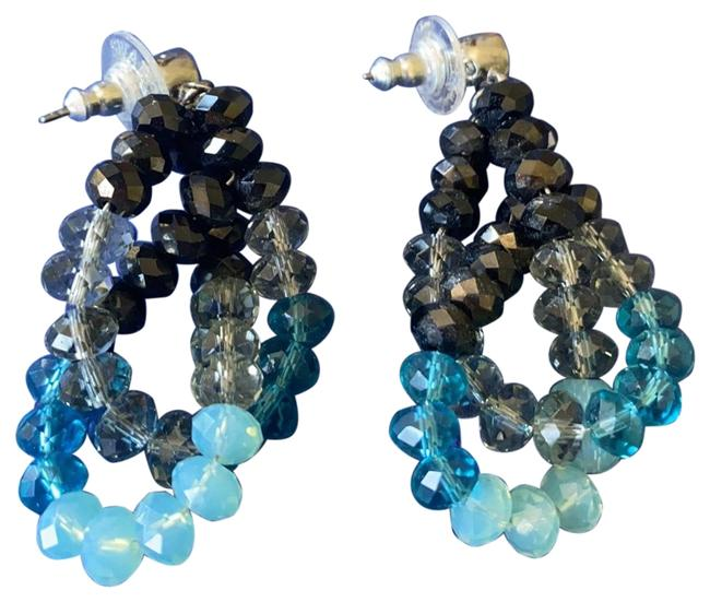 Item - Black and Turquoise Earrings