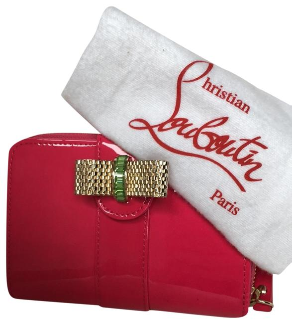 Item - Pink Neon Patent Leather Sweet Charity Wallet