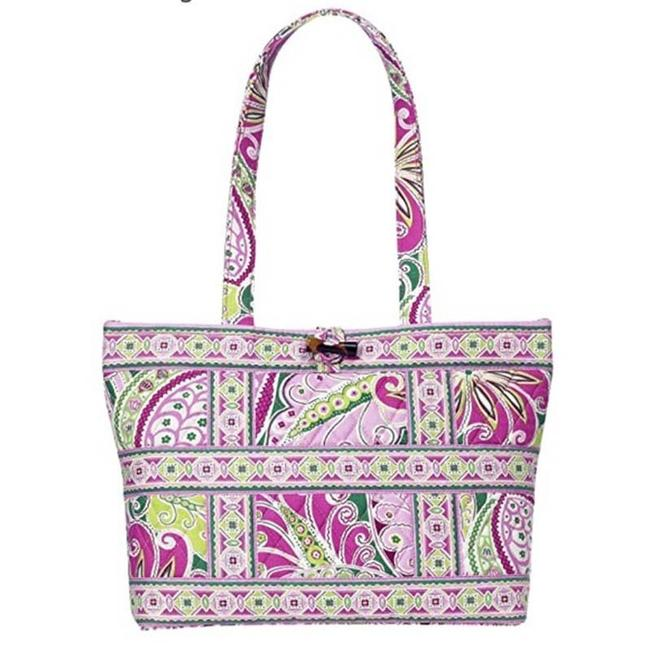 Item - Tic Pink Paisley Twill Tote