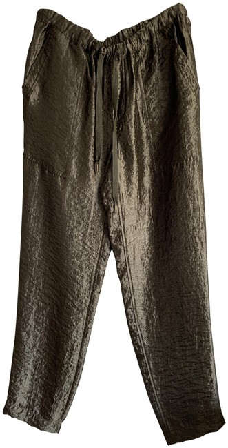 Item - Olive Fatigue Pull On Easy Pants Size 6 (S, 28)