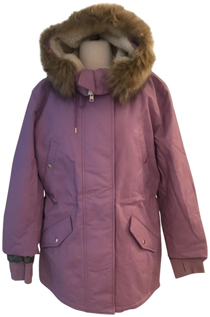 Item - Muted Orchid L Perfect Winter Parka with Eco-friendly Primaloft. L. Coat Size 12 (L)