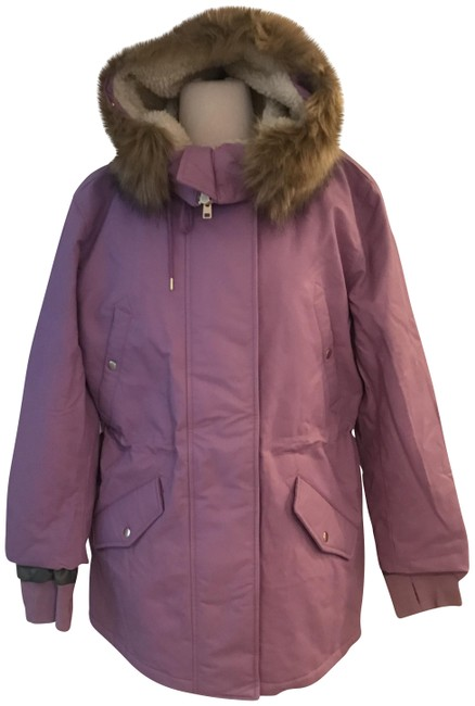 Item - Muted Orchid Perfect Winter Parka with Eco-friendly Primaloft Coat Size Petite 12 (L)