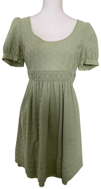 Item - Sage Short Casual Dress Size 4 (S)