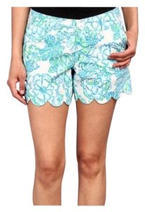 Lilly Pulitzer Dress Shorts White / Blue / Green