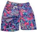 Lilly Pulitzer Pink and Blue Floral Print Shorts Size 2 (XS, 26) Lilly Pulitzer Pink and Blue Floral Print Shorts Size 2 (XS, 26) Image 1