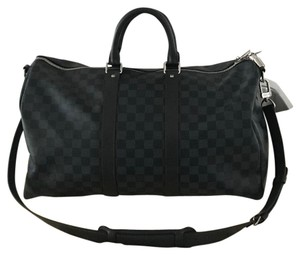 Louis Vuitton gray Travel Bag