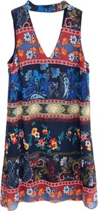 A. Byer short dress Multi-Color Lined Summer Tribal Print on Tradesy