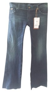 D&G Trouser/Wide Leg Jeans-Medium Wash