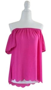 Alya Top hot pink