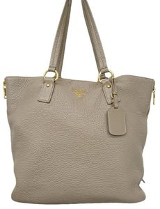 Prada Tote in Gray beige