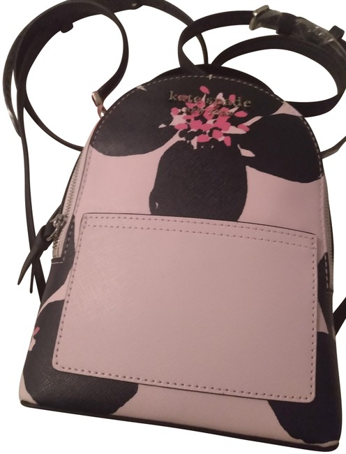 Item - Cameron Grand Flora Mini Convertible Pink Multi Leather Backpack